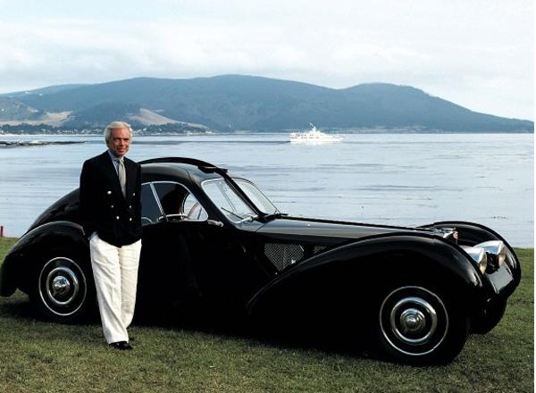 Ralph-Lauren-with-Bugatti-Type-57SC-Atlantic-Coupe